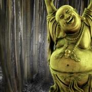 Buddha In A Grove Of Bamboo